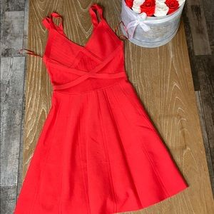 Red hot GUESS dress